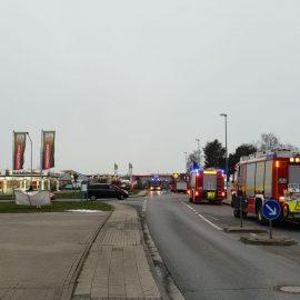 Feuer 2 – Brand in Autowerkstatt